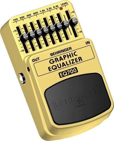 BEHRINGER EQ 700  PEDALE EQUALIZZATORE