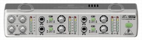 BEHRINGER AMP 800 AMPLIFICATORE CUFFIE