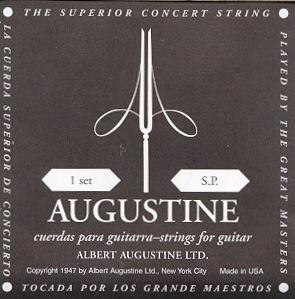 Augustine Muta chitarra Classica Nera