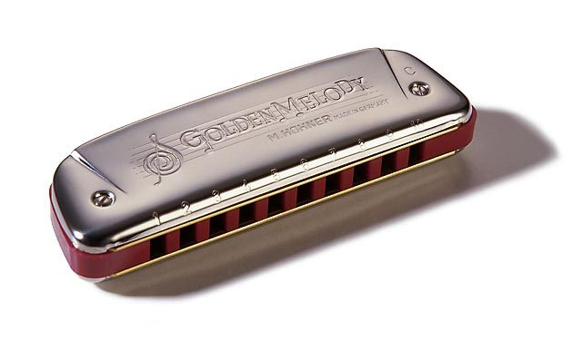 HOHNER GOLDEN MELODY 542/20 D (RE)
