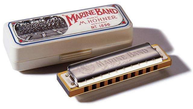 HOHNER MARINE BAND 1896/20 D (RE)