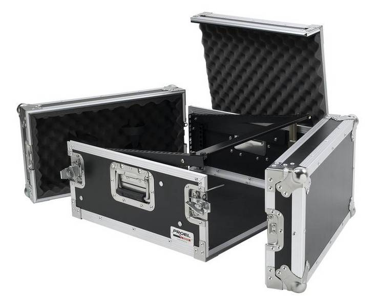 PROEL FLIGHT CASE SA 04 BLKM MIXER+RACK