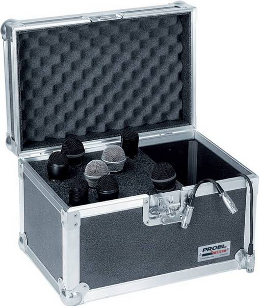 PROEL FLIGHT CASE SA 32 BLKM MICROFONI