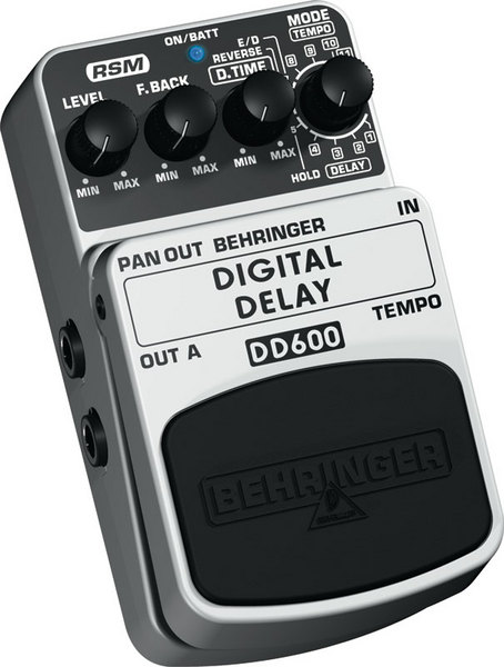 BEHRINGER DD 600 DIGITAL DELAY