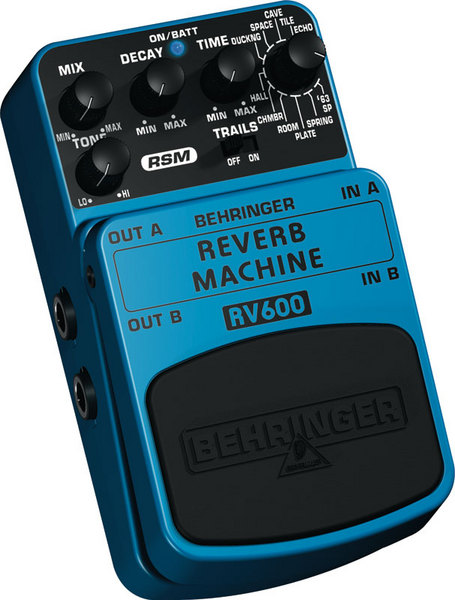 BEHRINGER RV 600 REVERB MACHINE