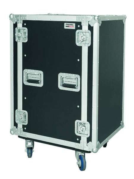 PROEL FLIGHT CASE CR 218 BLKMW CON RUOTE