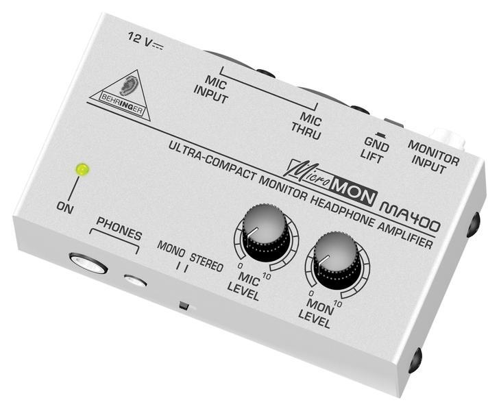 BEHRINGER MA 400 AMPLIFICATORE CUFFIE