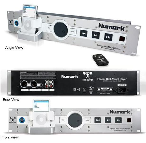 NUMARK FIT 4 SOUND LETTORE RACK PER IPOD