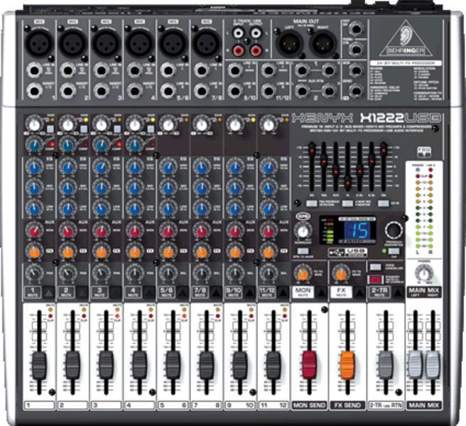 BEHRINGER XENYX X 1222 USB