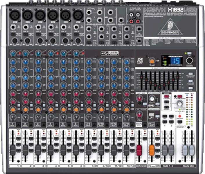 BEHRINGER XENYX X 1832 USB