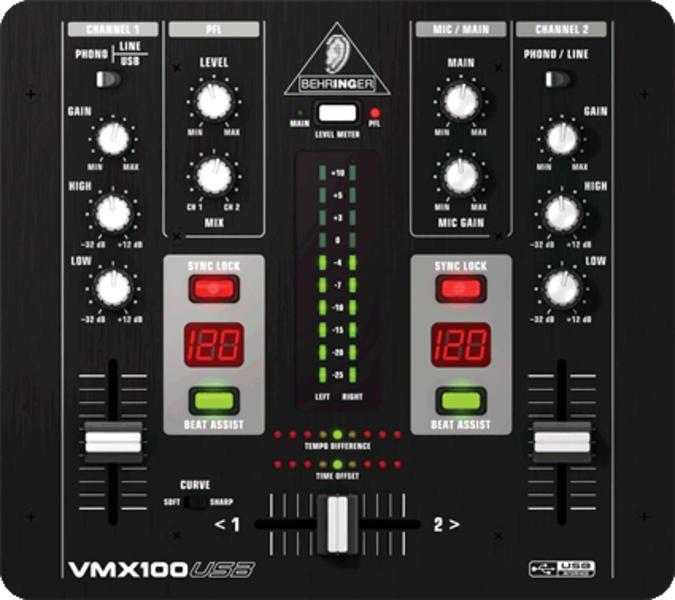 BEHRINGER VMX 100 USB