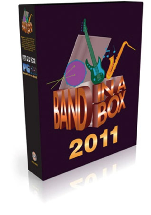 BAND IN A BOX 2011 FOR WIN