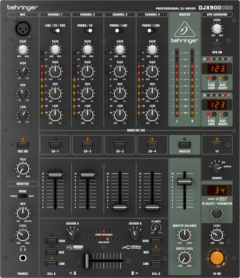 BEHRINGER DJX 900 USB