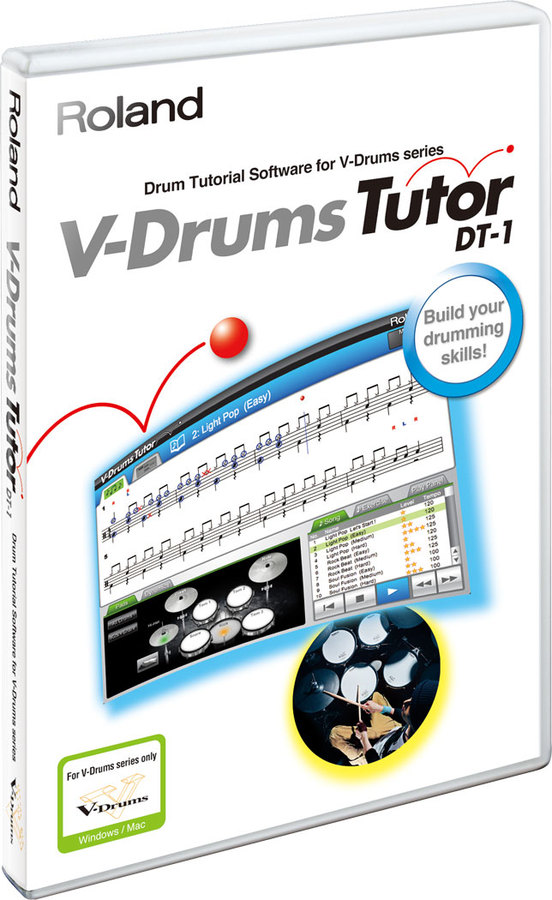 ROLAND DT 1 V DRUM TUTOR