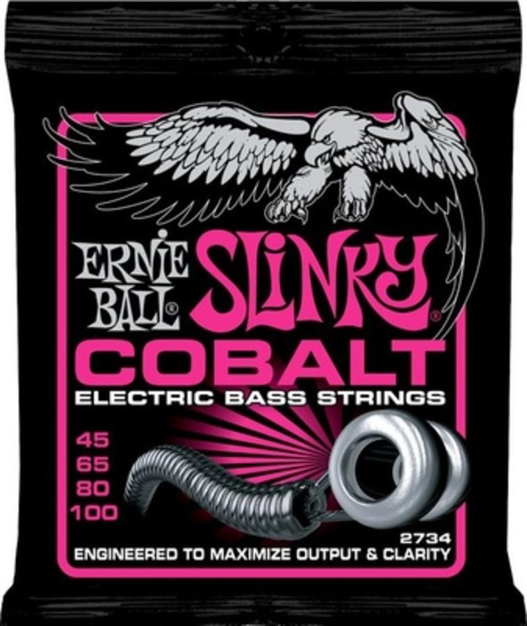 Ernie Ball 2734 Super Slinky Cobalt 45-100
