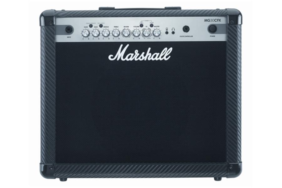 Marshall MG30CFX Combo 30 Watt Carbon Fiber con Effetti Digitali