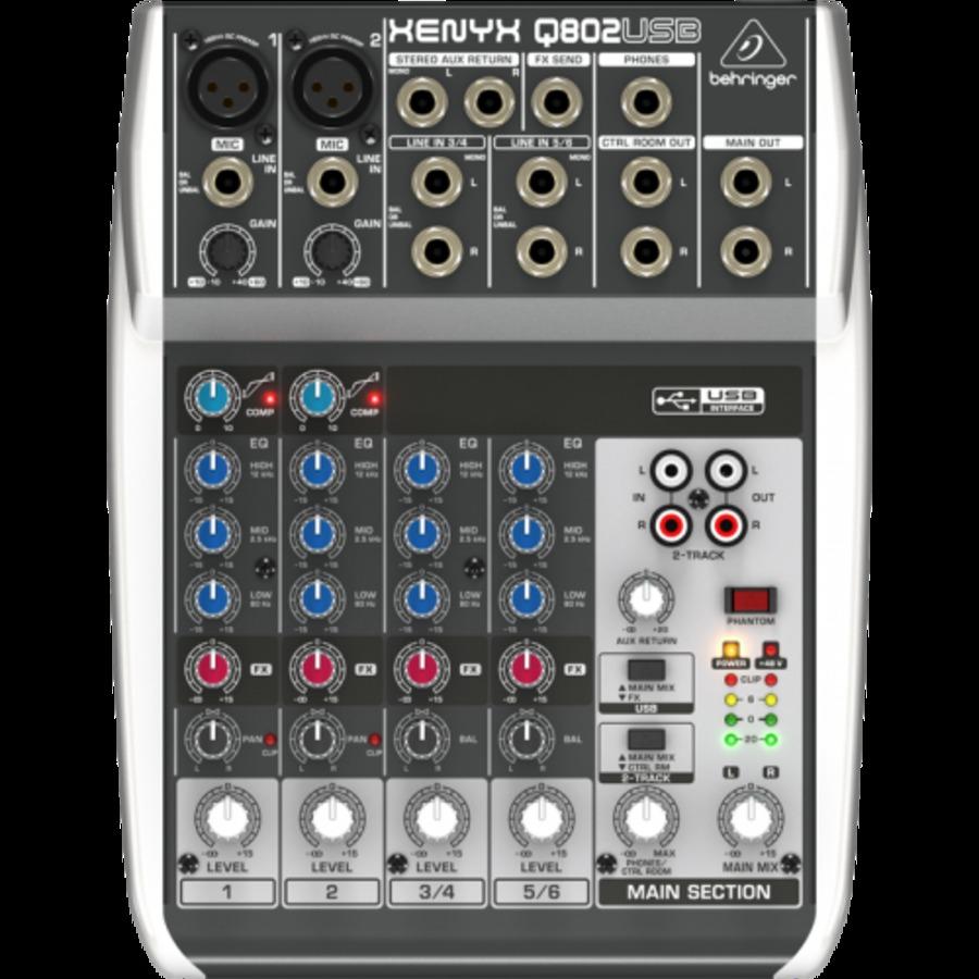 BEHRINGER XENYX Q 802 USB