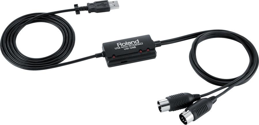 ROLAND UM ONE MK II CAVO MIDI USB