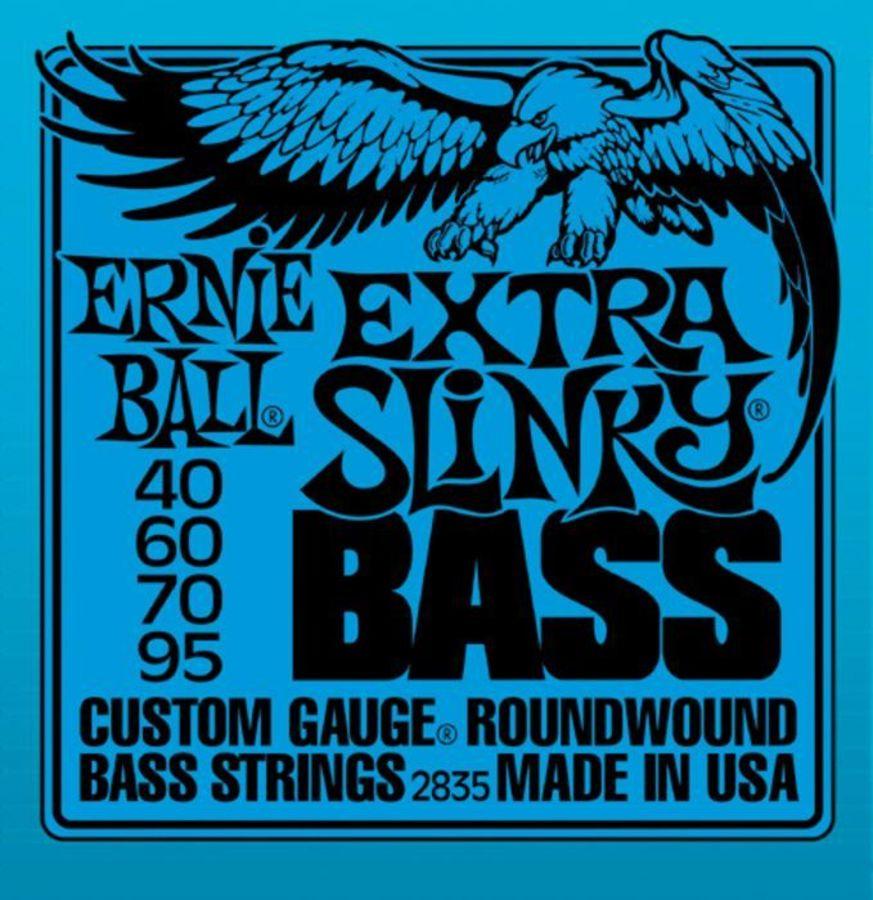 Ernie Ball 2835 Nickel Wound Extra Slinky 40-95