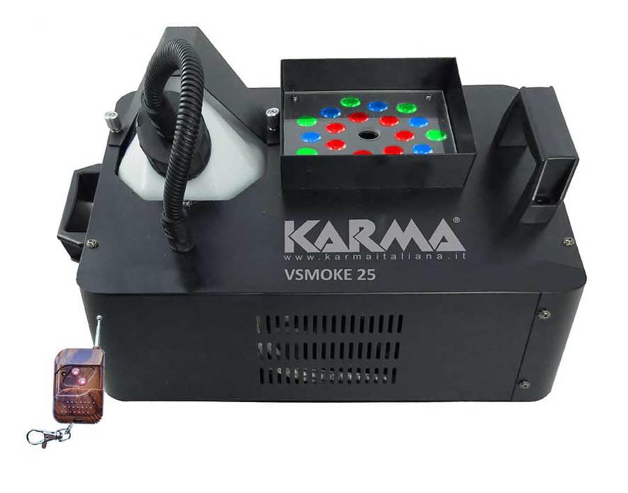 KARMA VSMOKE 25 MACCHINA FUMO CON LED