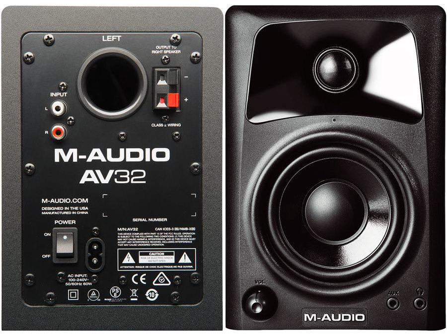 M-AUDIO AV 32 (COPPIA)
