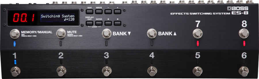 BOSS ES 8 SWITCHING SYSTEM