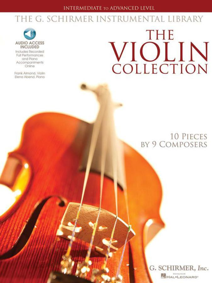 THE VIOLIN COLLECTION - INTERMEDIATE TO ADVANCED LEVEL + 2 CD