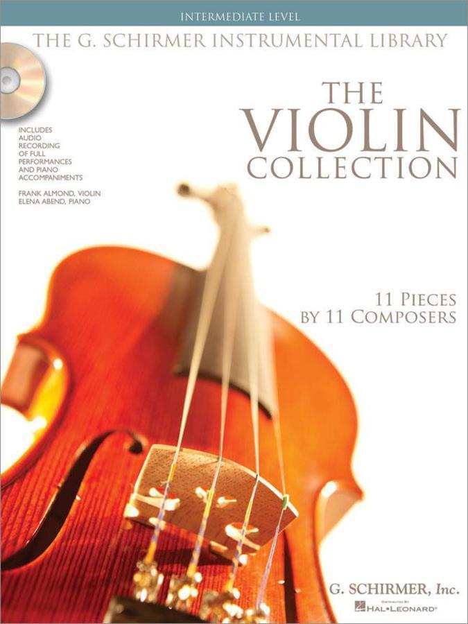 THE VIOLIN COLLECTION - INTERMEDIATE LEVEL + 2 CD