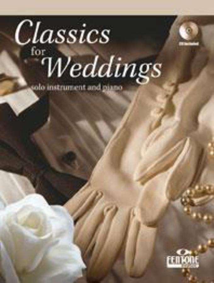 CLASSICS FOR WEDDINGS + ACCOMPAGNAMENTO PIANISTICO + CD