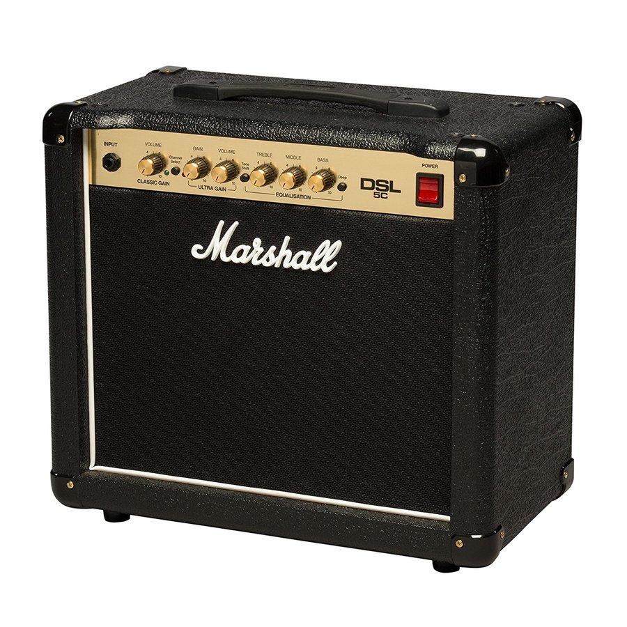 Marshall DSL5C Combo 2 canali 5 Watt All Valve