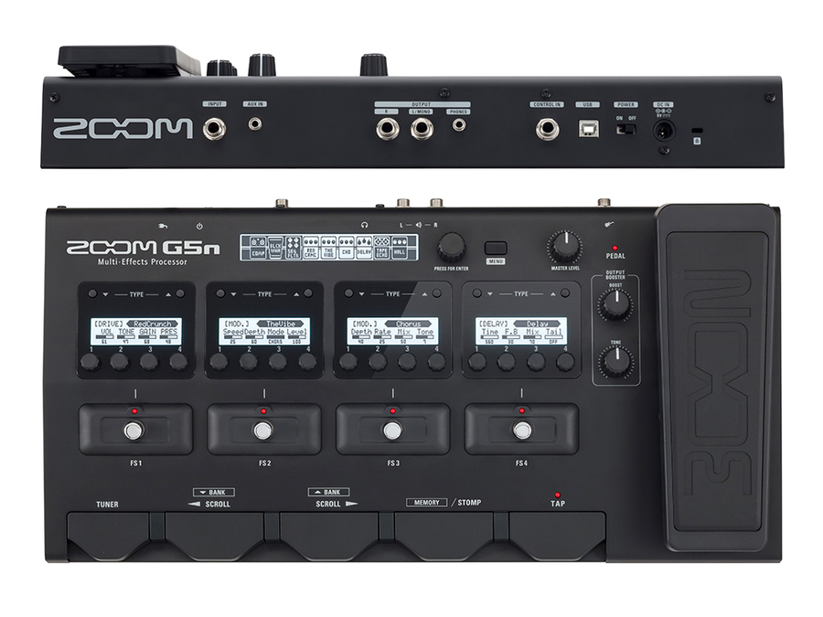 ZOOM G5N - PEDALIERA MULTIEFFETTO, AMP-SIMULATOR, INTERFACCIA AUDIO