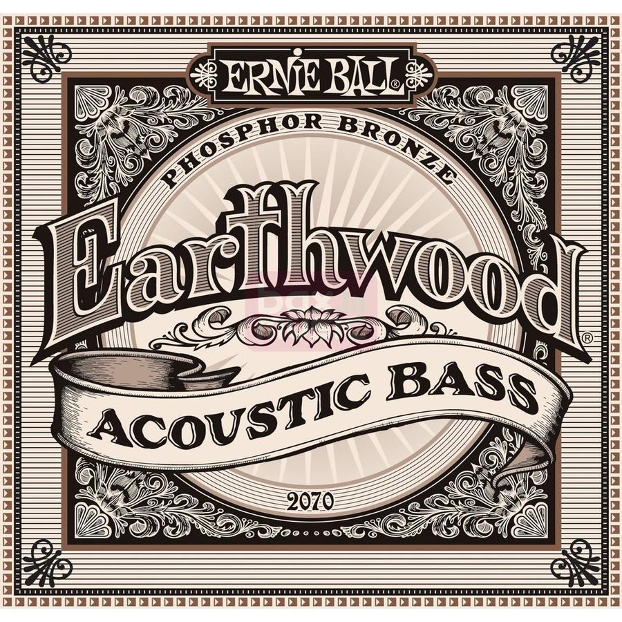 Ernie Ball 2070 Earthwood Phosphor Bronze 45-95