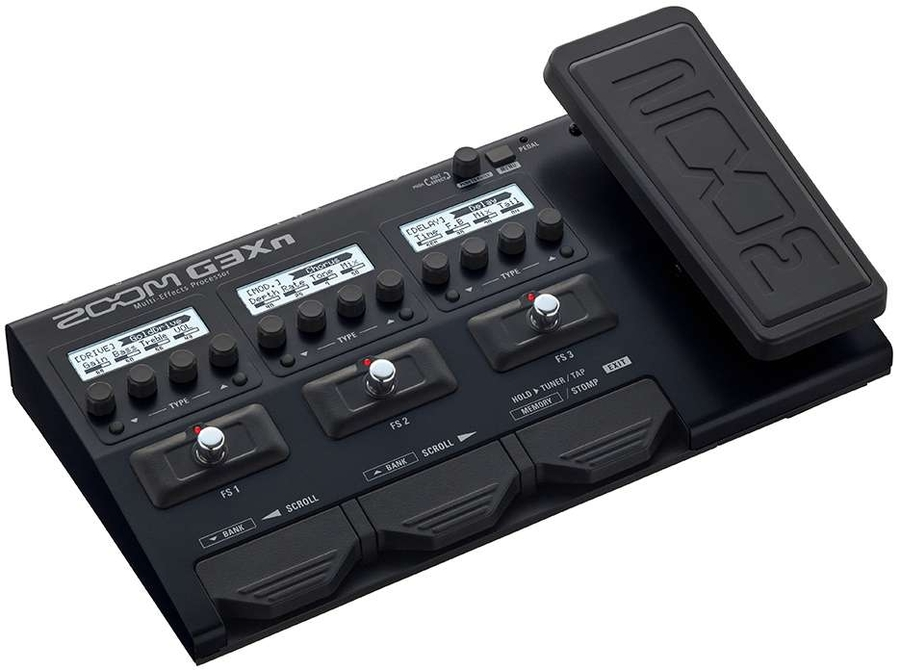ZOOM G3XN - PEDALIERA MULTIEFFETTO, AMP-SIMULATOR