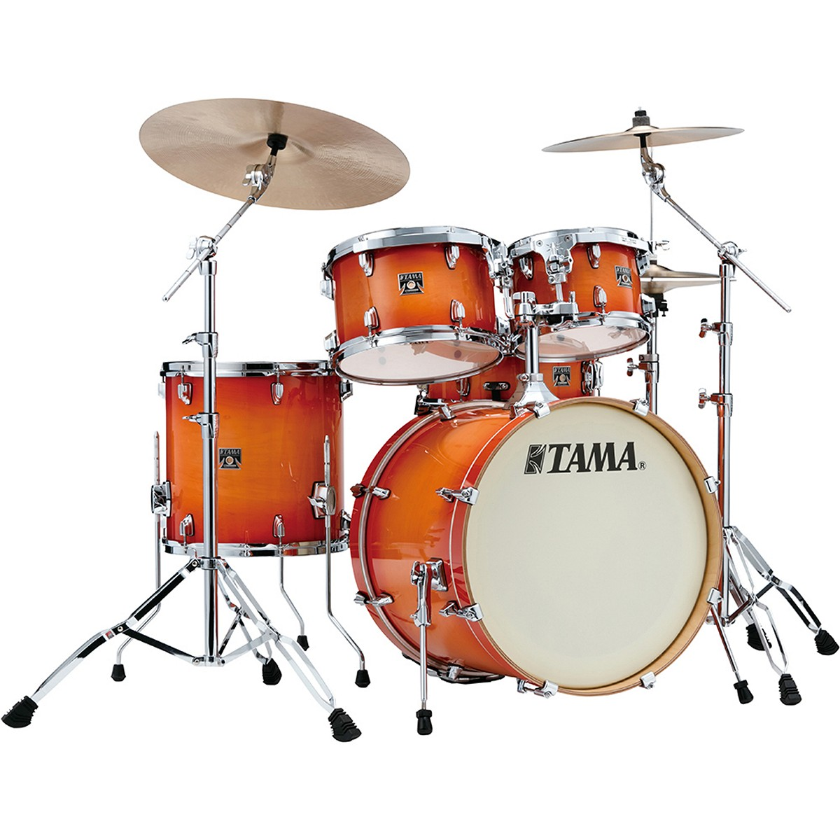 TAMA CL50RS-TLB - SHELL KIT - FINITURA TANGERINE LACQUER BURST