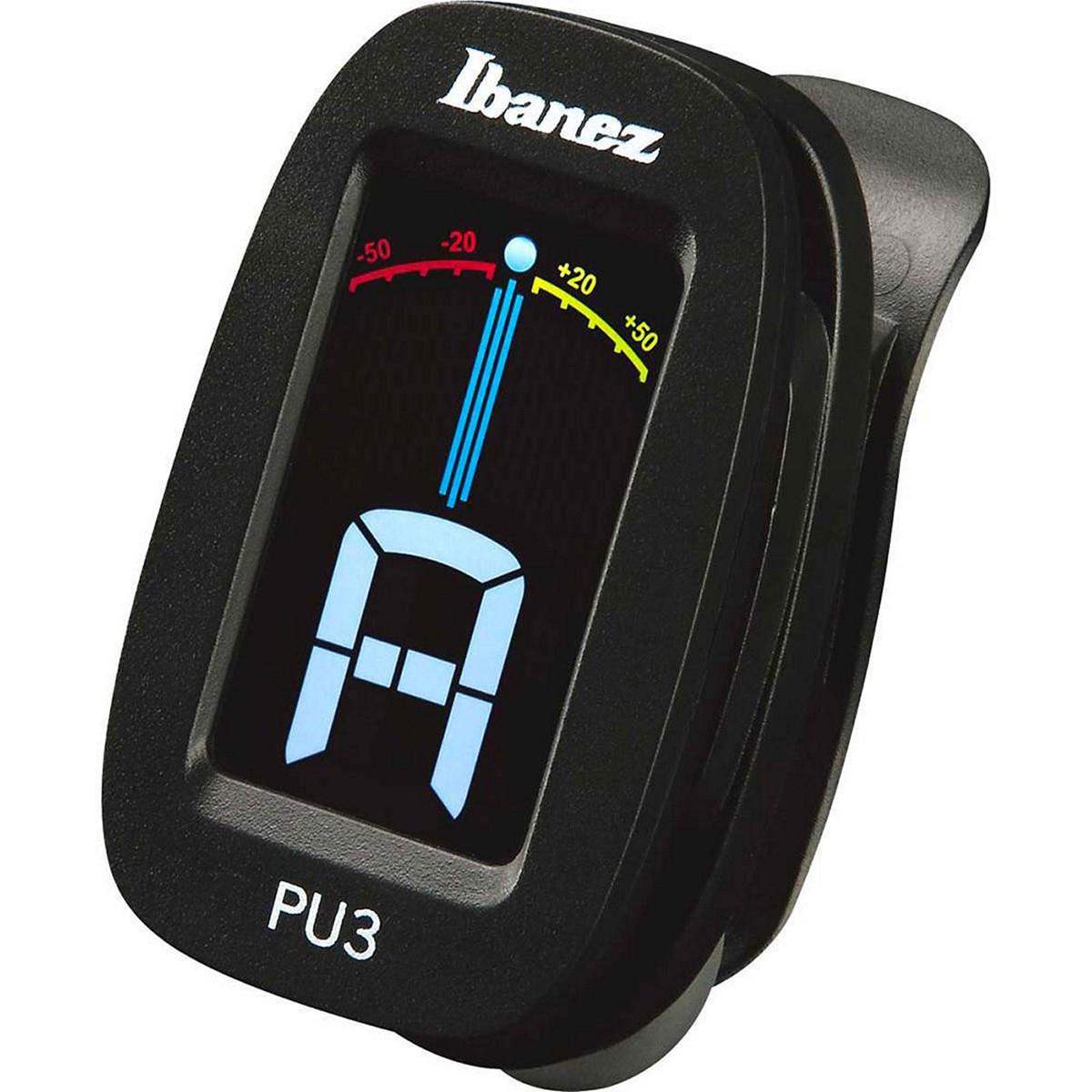 IBANEZ PU3-BK - ACCORDATORE A CLIP