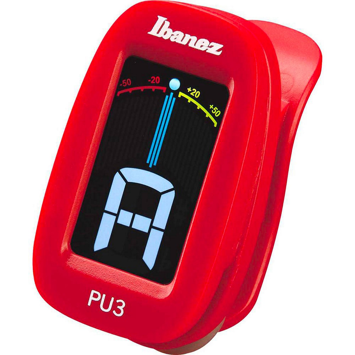 IBANEZ PU3-RD - ACCORDATORE A CLIP