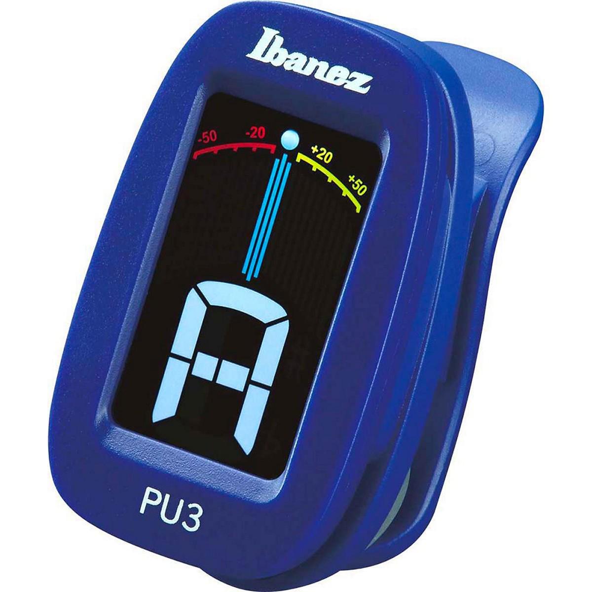 IBANEZ PU3-BL - ACCORDATORE A CLIP
