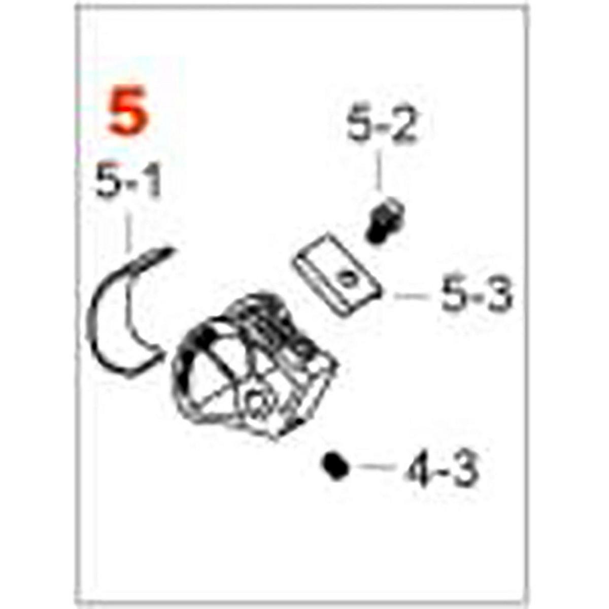 TAMA HP9N5R - CAMMA LITESPROKET PEDALE SPEED COBRA E IRON COBRA ROLLING (PER MODELLI DAL 2016)