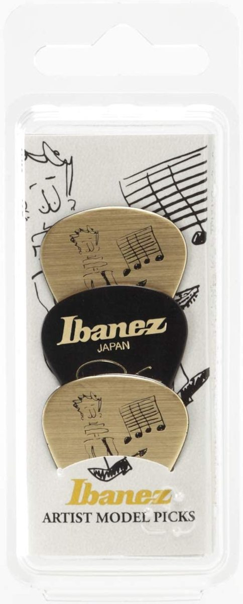 IBANEZ B1000PG30G GOLD & BLACK - BLISTER 3 PLETTRI