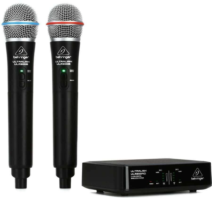 BEHRINGER ULM 302 MIC COPPIA RADIOMIKE A MANO