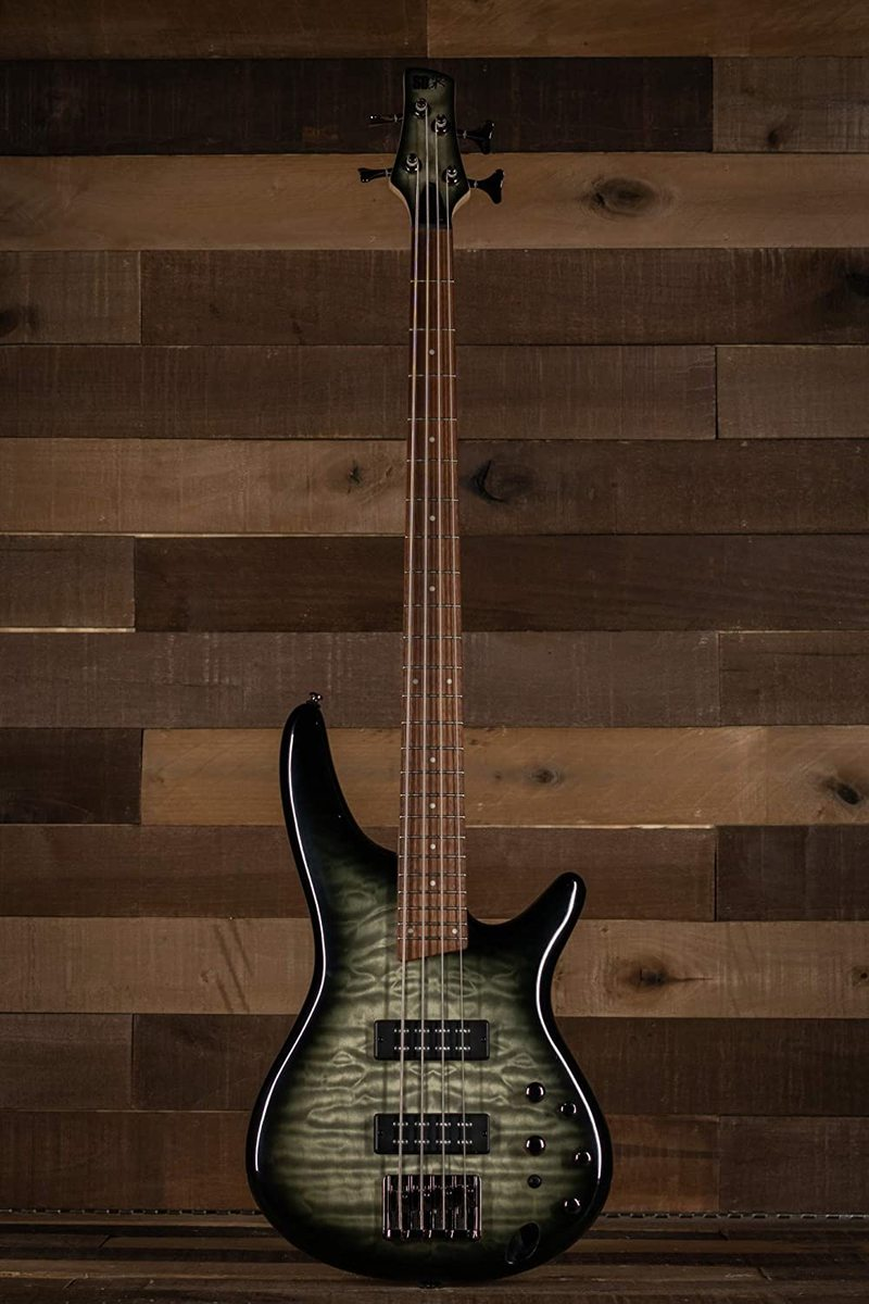IBANEZ SR400EQMSKG SURREAL BLACK BURST GLOSS