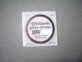 DADDARIO BW052 CORDA SINGOLA x ACUSTICA