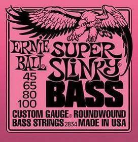 Ernie Ball 2834 Nickel Wound Super Slinky 45-100