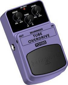 BEHRINGER TO 100  PEDALE OVERDRIVE