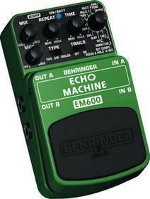 BEHRINGER EM 600 ECHO MACHINE