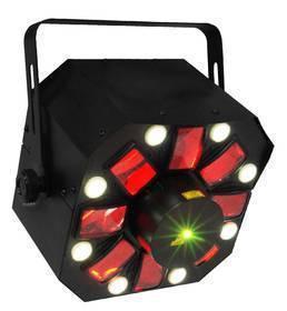 KARMA DJ LED 224 LASER + LED + STROBO