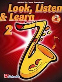 ASCOLTA LEGGI & SUONA 2 SAX TENORE CON CD  IN INGLESE