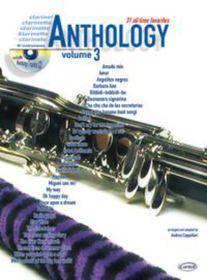 ANTHOLOGY CLARINET 3 CON CD