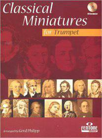 CLASSICAL MINIATURES FOR TRUMPET CD INCLUDED F933-400