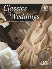 CLASSICS FOR WEDDINGS + ACCOMPAGNAMENTO PIANISTICO + CD